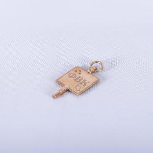 1888 Allegheny Phi Beta Kappa Key 3
