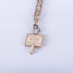 1910 Harvard Phi Beta Kappa Key 2