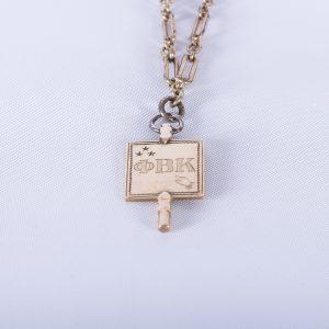 1910 Harvard Phi Beta Kappa Key 4