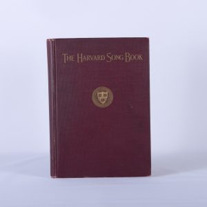 Antique Harvard University Song Book First Edition Band Glee Club 1922 Vintage