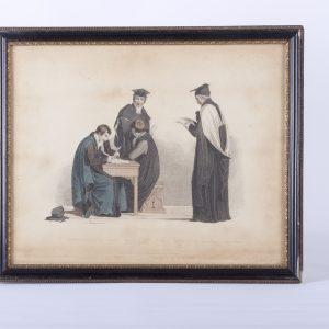 Four Gentlemen Scholar painting