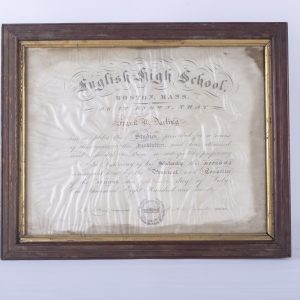 Frank Darling English High School Diploma