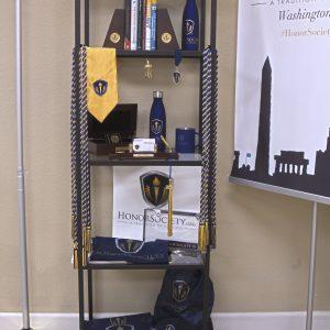 Honor Society Regalia Office Display