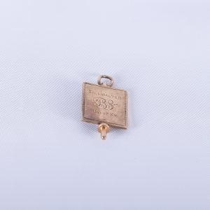 KAPPA BETA PHI Antique Gold Filled Fraternity Key from University of Kentucky for Bill Walter Circa 1950s
