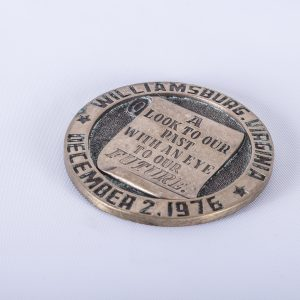 Williamsburgh Virginia Medal 1976